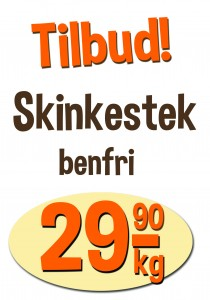 Skinkestek 29,9